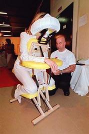 Massage amma assis lors de vos événements professionnels